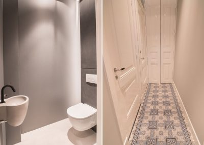 Complete renovation in Utrecht - WC and corridor